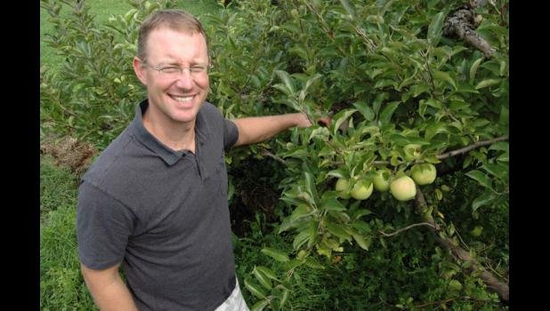 Benji Deal is the family orchard's hard cider maker. JEFFERSON HERALD FILE PHOTO