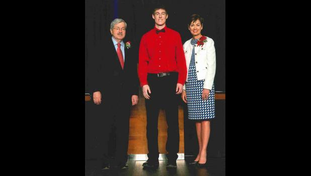 Reid Lamoureux was selected  to represent Greene County High School.