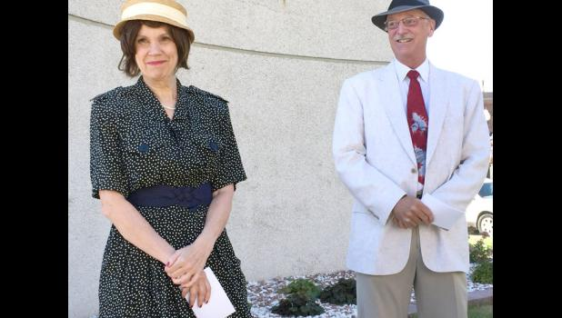 Bonnie and Don Orris as the Mahanays. CONTRIBUTED PHOTO