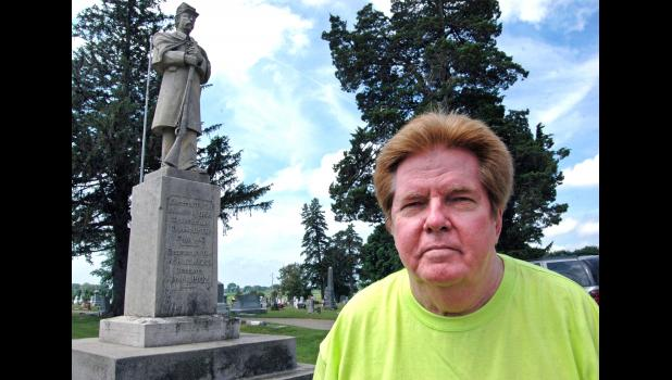 """""""My roots run deep in the South,"""" says Bill Burkett, a Greene County native and a life member of the Sons of Confederate Veterans, an organization leading the fight nationally against the removal of Confederate monuments. The organization's website states, """"The preservation of liberty and freedom was the motivating factor in the South's decision to fight the Second American Revolution."""" ANDREW McGINN 