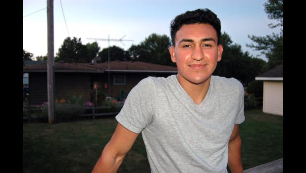Junior Gutierres, a native of Honduras living in Jefferson, has dreams of playing professional soccer. But unlike his classmates in the Greene County High School Class of 2020, his life is on hold pending his application for asylum. ANDREW McGINN | JEFFERSON HERALD
