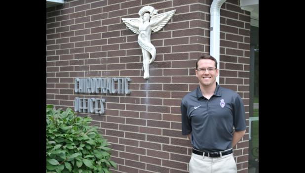 Branden Miller moved back to Jefferson to work with his father, Martin, at Miller Chiropractic Center. The father-son team pride themselves on offering an alternative form of medicine.