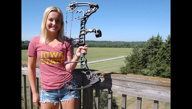 Emily Finch will graduate with the Greene County High School Class of 2018 as the most likely to shoot an animal that could potentially eat you. The Jefferson teen is hoping the 7-foot, 400-pound black bear she shot in May with a bow and arrow in the boreal forest of Canada is back from the taxidermist in time for her graduation party next spring.