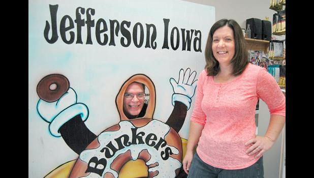"There's a new doughnut man in town: Matt Schroeder (left) and wife Lisa recently bought Bunkers Dunkers, the local doughnut shop with fans across the state. ""It's amazing to see your husband's dream become a reality,"" Lisa says. ANDREW McGINN 