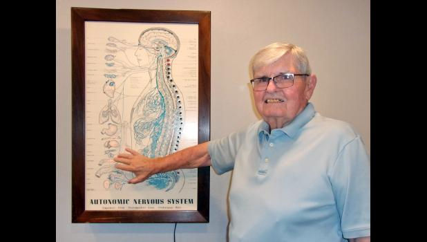 Dr. Jack Donovan, a Jefferson native, recently retired from his chiropractic practice in Carroll after nearly 70 years. In 2002, Palmer College of Chiropractic inducted him as a fellow into the Palmer Academy of Chiropractic.