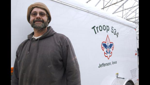 """With luck, the name of every Greene County Boy Scout who achieved the rank of Eagle Scout will soon be listed on the sides of Troop 534's new utility trailer. """"It's going to take some research,"""" says Assistant Scoutmaster Kurt Krieger (pictured), an Eagle Scout himself."""