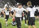 Greene County's Nick Breon (23) was a valuable asset for the record-setting Rams, often playing both ways. Because of that, he's drawn strong interest from many small colleges.  BRANDON HURLEY | JEFFERSON HERALD