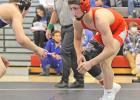 Greene County's McKinely Robbins enters his second-straight state tournament Thursday ranked No. 1 in Class 2A's 120-pound bracket. The sophomore has not lost since his defeat in last year's state title match.  BRANDON HURLEY   JEFFERSON HERALD